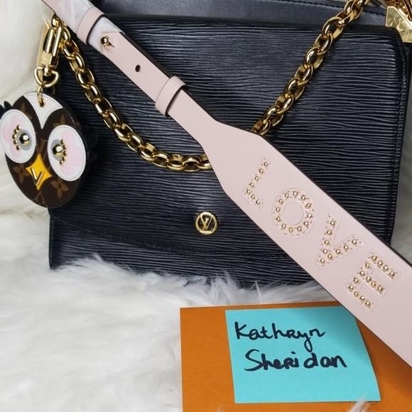 Michael Kors Handbags - MICHAEL KORS Love Studded Leather Shoulder Strap